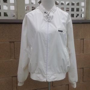 Vintage Members Only White Jacket
